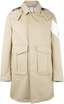 Moncler single breasted coat