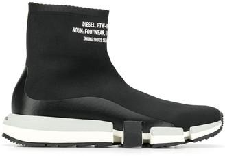 Diesel sock hi-top sneakers