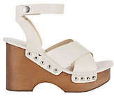 Rag & Bone Hester Wood Platform Wedge Sandals
