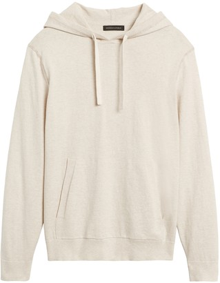 Banana Republic Organic Cotton Sweater Hoodie