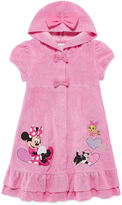Disney Girls Minnie Mouse Solid Dress-Big Kid