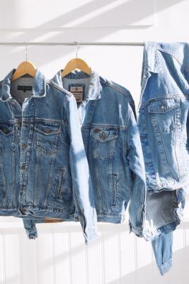 Urban Renewal Vintage 90s Western Denim Jacket - Blue M/L at Urban Outfitters