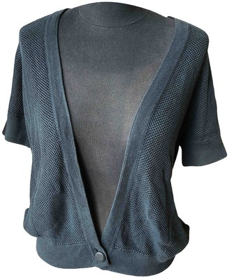 Hermes Anthracite Cotton Knitwear for Women
