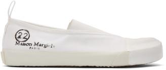 Maison Margiela White Vandal Tabi Sneakers
