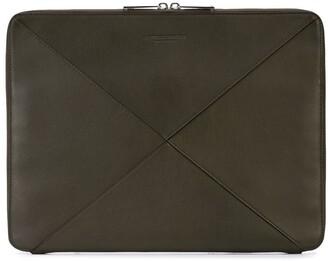 Bottega Veneta oversized Intrecciato clutch bag