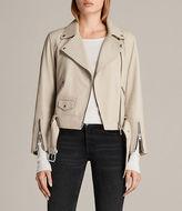 AllSaints Cole Leather Biker Jacket
