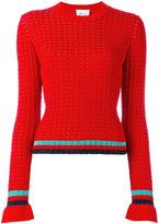 3.1 Phillip Lim contrast stripe jumper
