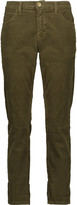Current/Elliott The Fling cotton-blend corduroy skinny pants