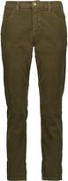 Current/Elliott The Fling cotton-blend corduroy skinny pants