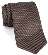 Ermenegildo Zegna Men's Solid Woven Silk Tie