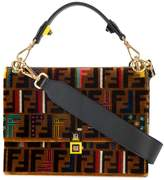 Fendi medium Kan I tapestry bag