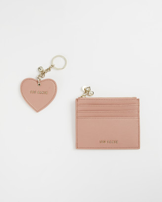 Ted Baker KAARIE Leather key ring and cardholder gift set