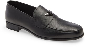 Prada Triangle Logo Loafer