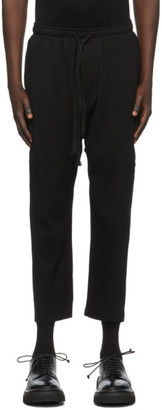 Julius Black Fitted Lounge Pants