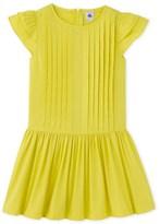 Petit Bateau Girls dress in cotton voile