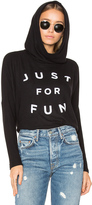 Sundry Just For Fun Pullover Hoodie