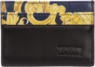 Versace Jeans Couture Logo Baroque Credit Card Holder
