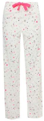 George White Star Print Pyjama Bottoms