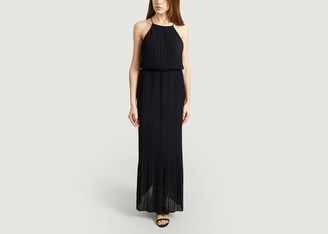 Samsoe & Samsoe Myllow Openback Long Dress - XS