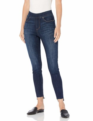 Jag Jeans Women's Maya Skinny Pull On Ankle with Stepped Hem Jean