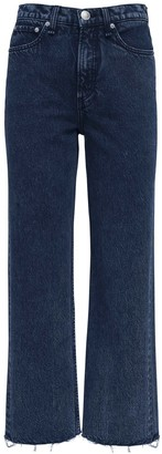 Rag & Bone Ruth Super High Waist Straight Jeans