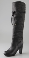 See By Chloe High Heel Drawstring Boots