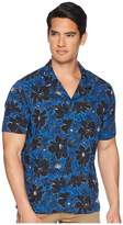 The Kooples Exotic Flower Print Shirt Men's Clothing