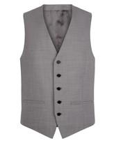 Wool Tropical Slim Waistcoat