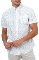 7 Diamonds Men's New Tradition Print Woven Shirt