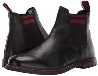 Ben Sherman Birk Chelsea (Black Leather) Men's Shoes