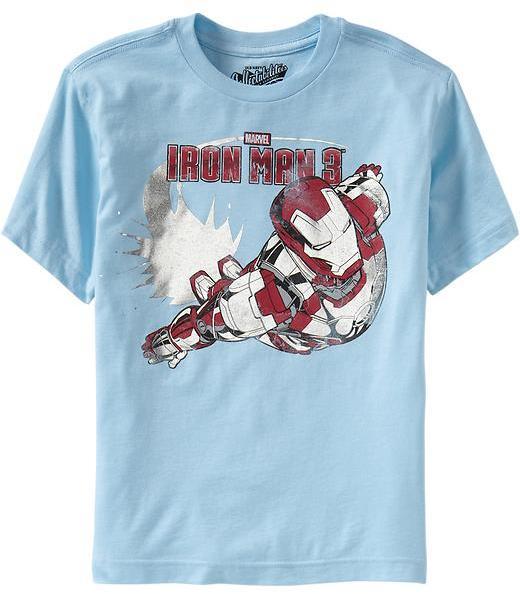 Iron Man Boys Marvel Comics™ 3 Tees