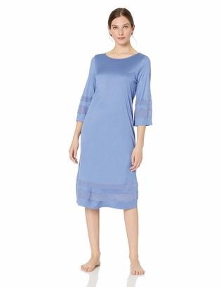 Hanro Women's Enna 3/4 Sleeve Gown
