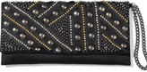 Embellished Foldover Clutch