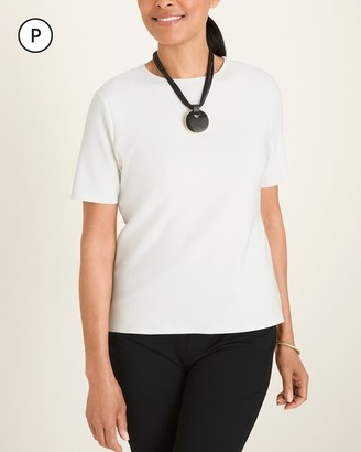Travelers Collection Petite Bonded Tee