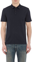 John Varvatos Men's Hampton Polo Shirt-NAVY