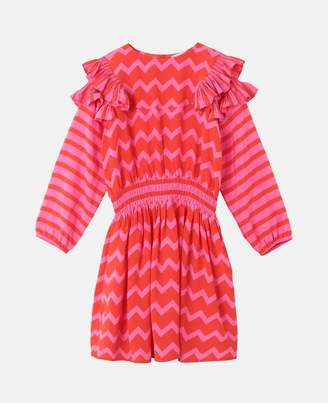 Stella McCartney Kids stripes tencel dress