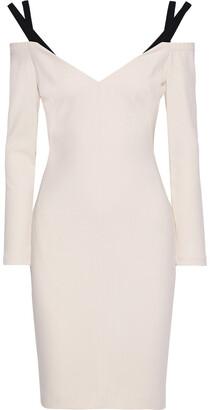 Black Halo Karlie Cold-shoulder Cady Dress