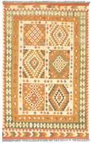 Ecarpetgallery Hereke Flatweave Hand-Woven Wool Kilim Rug