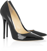 Jimmy Choo Anouk patent-leather pumps
