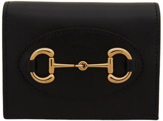 Gucci Black 1955 Horsebit Wallet