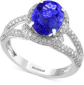 Effy Final Call Tanzanite (2-5/8 ct. t.w.) and Diamond (3/4 ct. t.w.) Ring in 14k White Gold