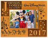 Disney Walt World 2017 Frame by Arribas - 4'' x 6'' - Personalizable