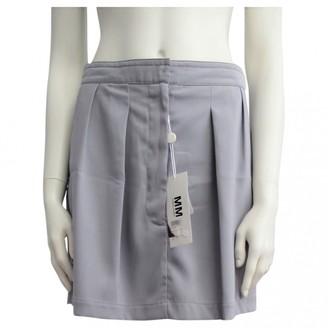 Maison Margiela Grey Skirt for Women