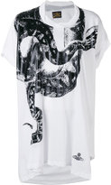Vivienne Westwood snake T-shirt - women - Cotton - One Size