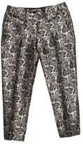 Michael Kors Embroidered Cropped Pants