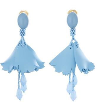 Oscar de la Renta Mini Impatiens Earrings