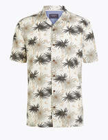 M&S CollectionMarks and Spencer Cotton Palm Print Shirt