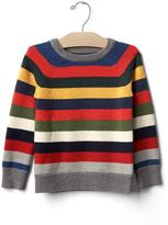 Gap Crazy stripe crew sweater