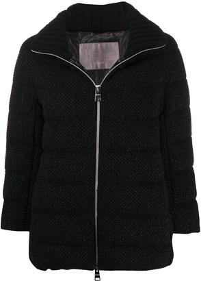 Herno Textured Zip-Up Jacket