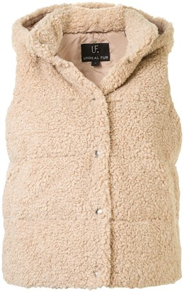 Unreal Fur Faux Shearling Gilet